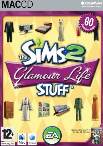 Die Sims 2 - Glamour Accessoires (Add-on) (deutsch) (MAC) -- via Amazon Partnerprogramm