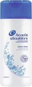 Head & Shoulders Classic Clean Anti-Schuppen Shampoo, 600ml (8x 75ml)