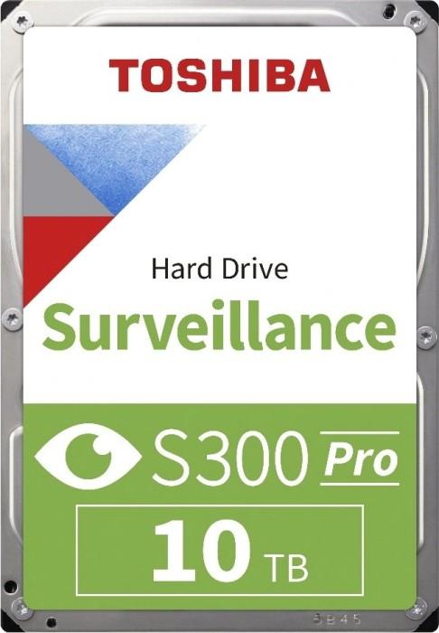 Toshiba S300 Surveillance 10TB, SATA 6Gb/s, bulk (HDWT31AUZSVA)