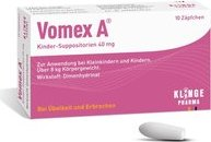 Vomex A children-suppositories 40mg suppository, 10 pieces
