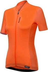 Santini Scia Trikot kurzarm flashy orange (Damen) (SP940L75RSCIA-1015)