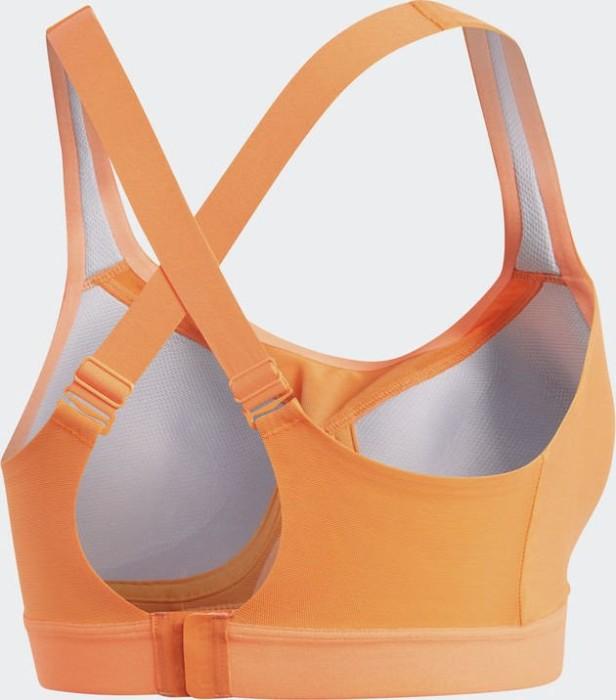 562ebb1084967 adidas Stronger For It Soft Sports Bra hi-res orange (CE2593 ...