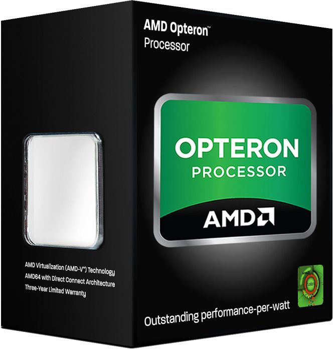 AMD Opteron 3350 HE, 4x 2.80GHz, boxed ohne Kühler (OS3350HOW4KHKWOF)