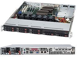 Supermicro SuperChassis 113TQ-R650CB black, 1U, 650W redundant