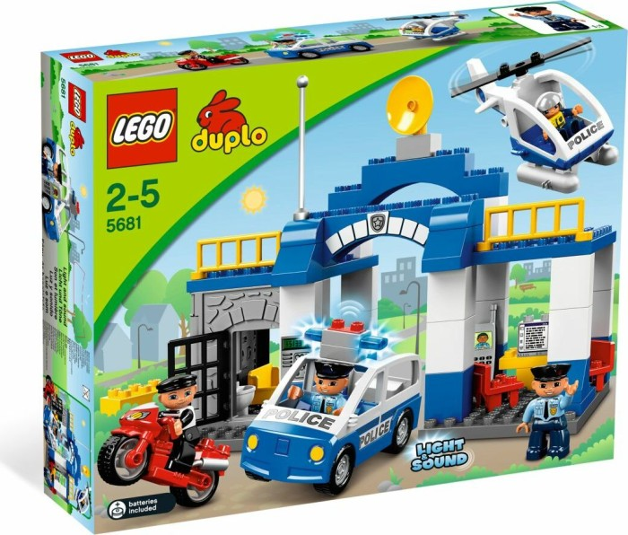 LEGO DUPLO Polizei & Feuerwehr - Polizeistation (5681) -- via Amazon Partnerprogramm