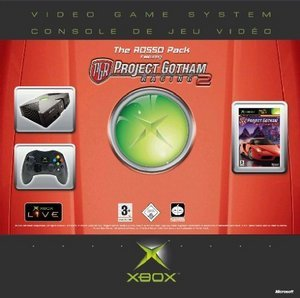 Microsoft Xbox Rosso Pack (z Project Gotham Racing 2)