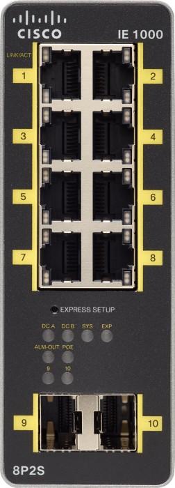 Cisco Ie 1000 Industrial Railmount Smart Switch 8x Rj 45