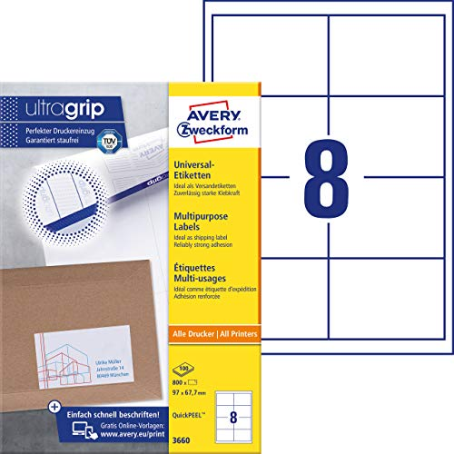 Avery-Zweckform universal labels (3660)