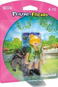 playmobil Playmo-Friends - Tierpflegerin mit Gorillababy (9074)
