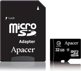 Apacer microSDHC 32GB Kit, Class 4 (AP32GMCSH4-R)
