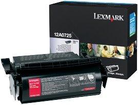 Lexmark Toner 12A0725 schwarz