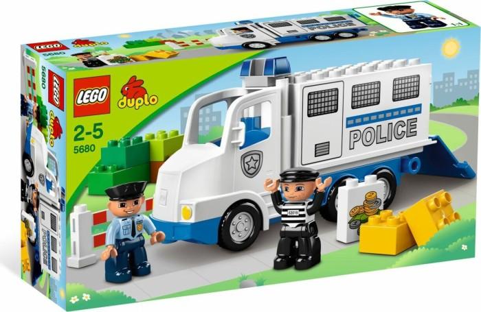 LEGO DUPLO Polizei & Feuerwehr - Polizeitransporter (5680) -- via Amazon Partnerprogramm