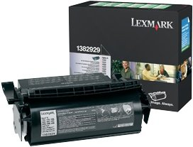 Lexmark Return labels Toner 1382929 black high capacity