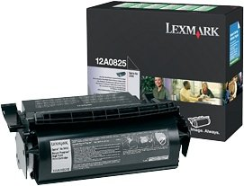 Lexmark 12A0825 Return Toner black