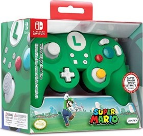 PDP Wired Fight Pad Luigi Design (WiiU)