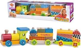 Eichhorn Color wooden train (100002223)