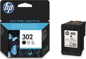 HP Druckkopf mit Tinte 302 schwarz (F6U66AE)
