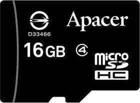 Apacer microSDHC 16GB, Class 4 (AP16GMCSH4-RA)
