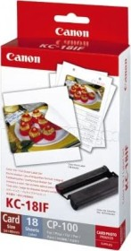 Canon ink KC-18IF colour Photopack (7741A001)