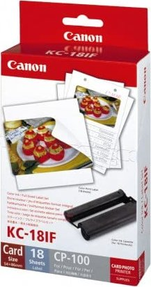 Canon Tinte KC-18IF Color Photopack (7741A001) -- via Amazon Partnerprogramm