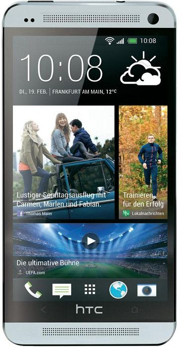 HTC One (M7) 32GB silber