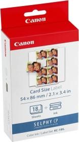 Canon KC-18IL sticker paper 54x86mm incl. ink (7740A001)