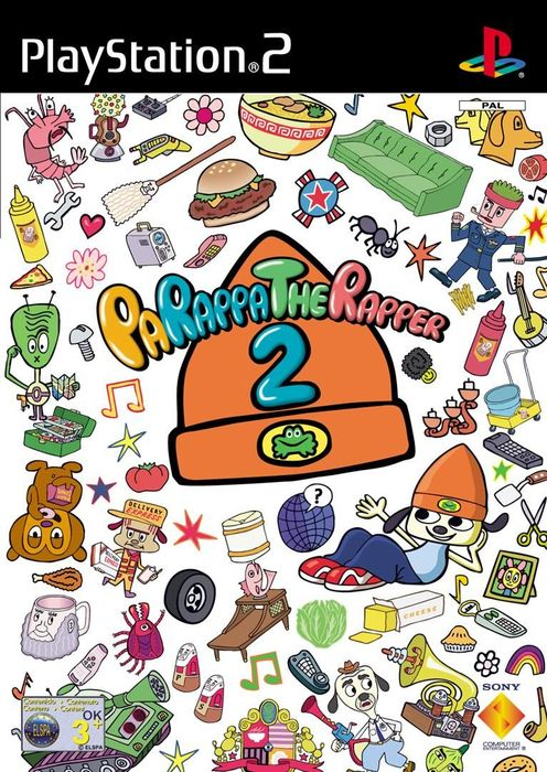 Parappa the Rapper 2 (niemiecki) (PS2)