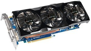 Gigabyte GeForce GTX 560 Ti 448 Cores, 1.25GB GDDR5, 2x DVI, HDMI, DisplayPort (GV-N560448-13I)