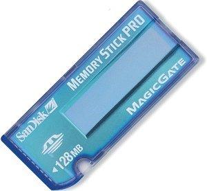 SanDisk Memory Stick [MS] Pro 128MB (SDMSP-128) -- © SanDisk