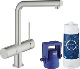 Grohe Blue Minta Pure starter kit supersteel (31345DC2)