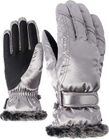 Ziener Kim Skihandschuh metallic silver (Damen)