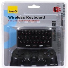 Logic3 wireless Keyboard (PS3) (PS919)
