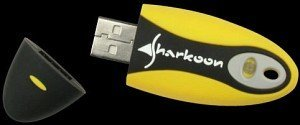 Sharkoon Flexi-Drive SE USB-Stick 128MB, USB-A 2.0