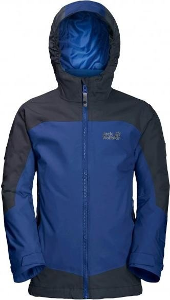 Jack Wolfskin Akka 3in1 Jacke royal blue (Junior) (1606771-1505)