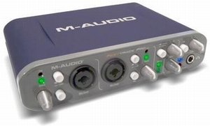 M-audio almost Track Pro