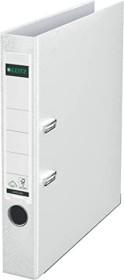 Leitz quality-folder 180° plastic 52mm, white (10155001)