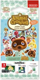 Nintendo amiibo-Karten Packung - Serie 5: Animal Crossing (Switch/WiiU/3DS)