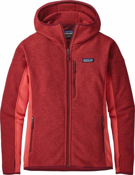 outlet store 1bcbc c02c5 Patagonia Performance Better Sweater Fleece Hoody Jacke tomato (Damen)  (25975-TMT) ab € 99,99
