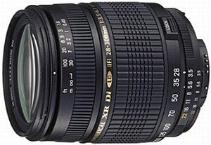 Tamron AF 28-300mm 3.5-6.3 XR Di LD Asp IF macro for Canon EF black (A061E)