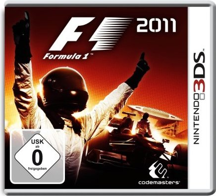 F1 2011 (German) (3DS) -- via Amazon Partnerprogramm