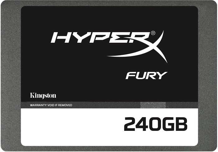 Kingston HyperX Fury SSD 240GB, SATA (SHFS37A/240G)