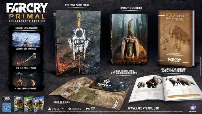 Far Cry Primal - Collector's Edition (deutsch) (Xbox One)