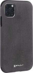 Stilgut Alcantara Cover für Apple iPhone 11 Pro Max grau (B08292K7S7)