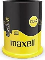 Maxell CD-R 80min/700MB 52x, 100-pack Spindle