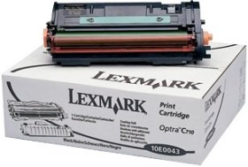 Lexmark Toner 10E0043 black