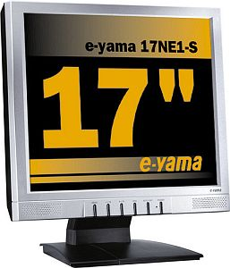 "iiyama e-yama 17NE1-S, 17"", 1280x1024, analogowy, Audio"