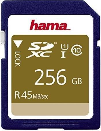 Hama R45 SDXC 256GB, UHS-I, Class 10 (114946)
