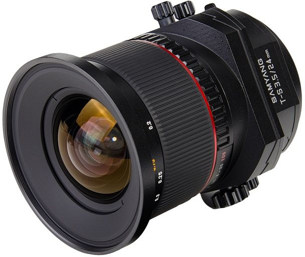 Samyang lens T-S 24mm 3.5 ED AS UMC for Pentax