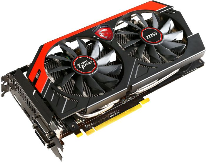 MSI N760 TF 2GD5/OC Twin Frozr Gaming, GeForce GTX 760, 2GB GDDR5, 2x DVI, HDMI, DisplayPort (V284-081R)