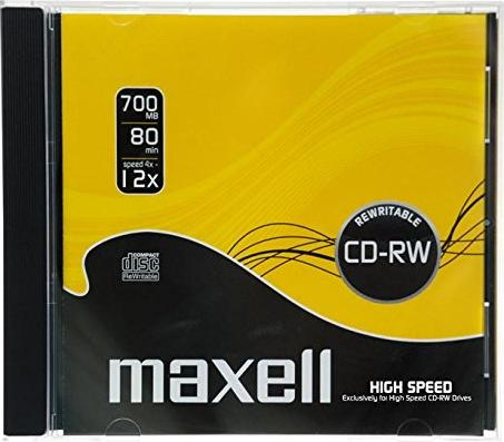 Maxell CD-RW 80min/700MB -- via Amazon Partnerprogramm